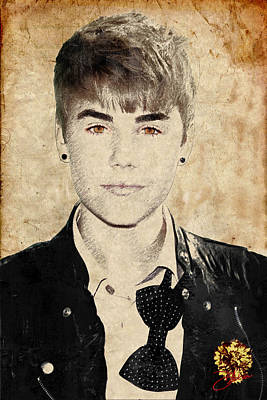 Just Bieber Art Print by Dancin Artworks