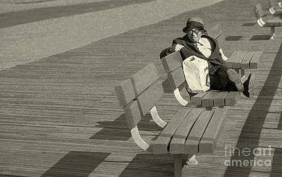 Coney Island Photograph - Just Chilling by Jeff Breiman