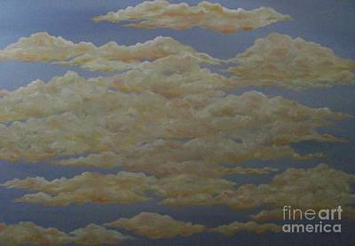 Painting - Just Clouds by Michelle Welles