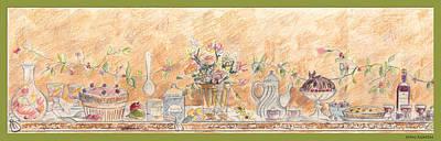Just Desserts Art Print by John Keaton