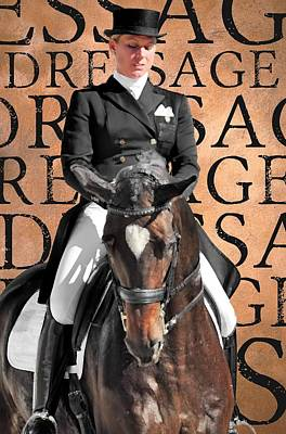 Photograph - Just Dressage by JAMART Photography