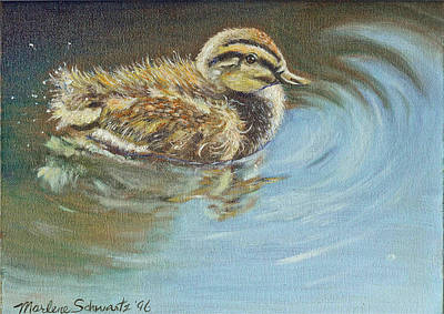 Painting - Just Ducky by Marlene Schwartz Massey