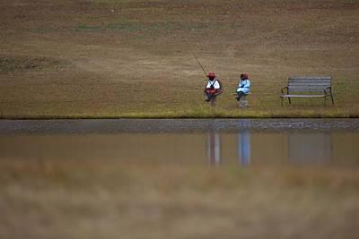 Photograph - Just Fishin by Gordon Elwell