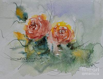 Painting - Just For You. #11 by Alla Dickson
