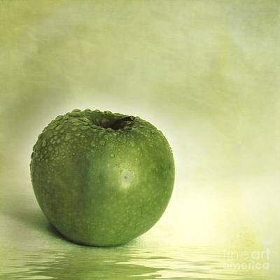 Apple Photograph - Just Green by Priska Wettstein