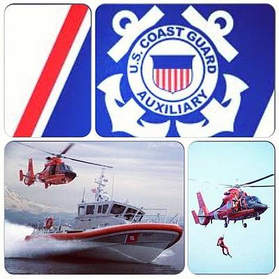 Helicopter Photograph - Just Joined <3 #coastguard #auxiliary by Ashley Balconis
