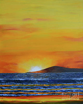 Painting - Just Left Maui by Suzette Kallen