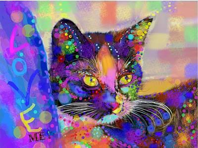 Just Love Me Art Print