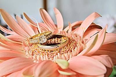 Gemstone Engagement Ring Photograph - Just Love by Zuzana Tenhue