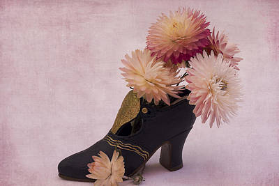 Art Print featuring the photograph Just One Shoe by Sandra Foster