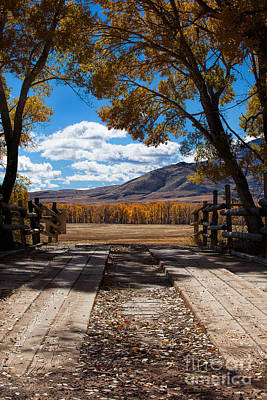 Photograph - Just Over The Bridge by Jim Garrison