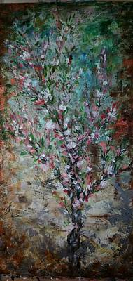 Mixed Media - Just Peachy  by Brenda Berdnik