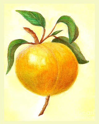 Painting - Just Peachy by Nan Wright