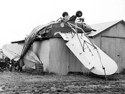 Dundee Photograph - Just Plane Exhausted by Underwood Archives
