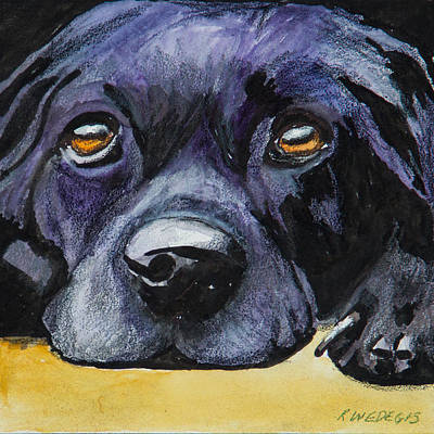 Pet Painting - Just Resting by Roger Wedegis