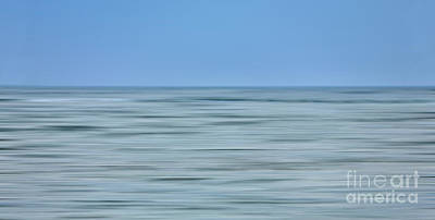 Photograph - Just Sky Just Water - A Tranquil Moments Landscape by Dan Carmichael