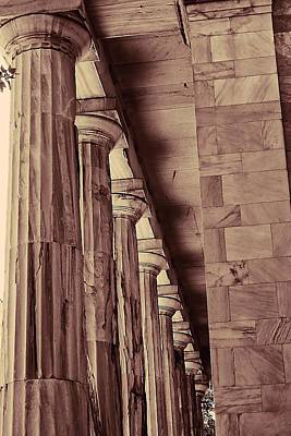 Photograph - Just Some Old Columns by Beth Akerman