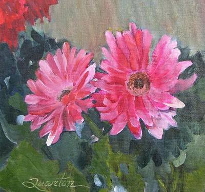Painting - Just The Two Of Us by Lori Quarton