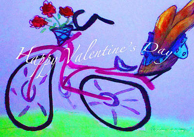 Painting - Just To Say I Love You Valentine by Glenna McRae