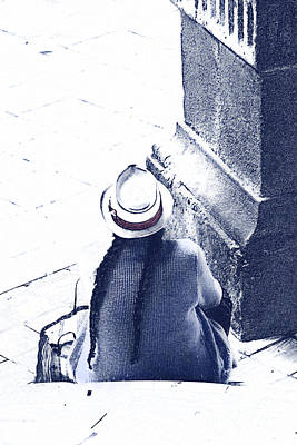 Spanish Shawl Photograph - Just Waiting by Al Bourassa