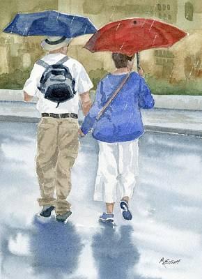 Just Walkin In The Rain Original by Marsha Elliott