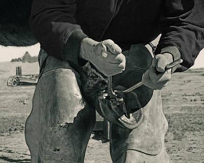 Trimming Digital Art - Just Working Hands by Terril Heilman