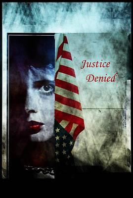 Art Print featuring the photograph Justice Denied by Allen Beilschmidt