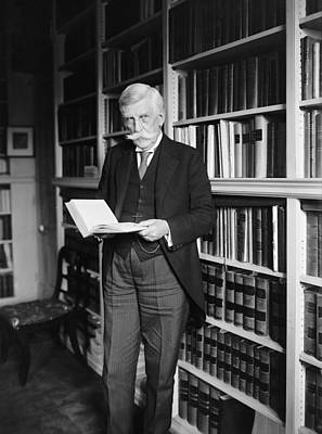 Chief Justice Photograph - Justice Oliver Wendell Holmes 1924 by Mountain Dreams