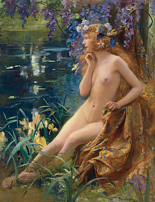 Digital Art - Juventa by Gaston Bussiere
