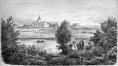 Jylland Norup Kirke Print by Celestial Images