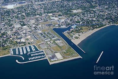 Photograph - K-013 Kenosha Wisconsin Harbor by Bill Lang