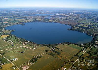 Photograph - K-014 Kegonsa Lake Dane Co. Wisconsin by Bill Lang