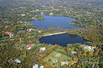 Photograph - K-016 Keene Hawley Lakes Lake Co. Illinois by Bill Lang