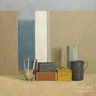 Still Life Painting - K L G by William Packer