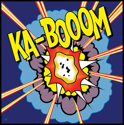 Digital Art - Ka-boom 2 by Gary Grayson