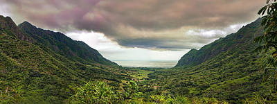 Photograph - Kaaawa Valley Panorama by Dan McManus