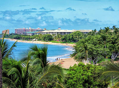 Photograph - Kaanapali Beach 1 by Dawn Eshelman