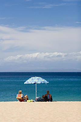 Kaanapali Beach Photograph - Kaanapali Beach In Maui by David Smith