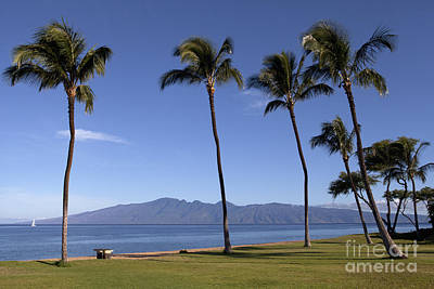 Photograph - Ka'anapali Morning by David Olsen