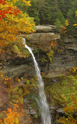 Photograph - Kaaterskill Falls by Gregory Scott