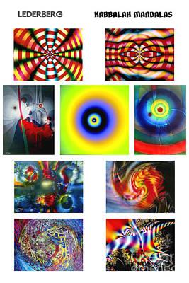 Kabbalah Mandala Poster Art Print
