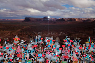 Photograph - Kachina Gathering by Ron White