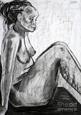 Drawing - Kaddie 5 by Joanne Claxton