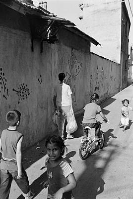 Kadifekale Neighborhood In Izmir Turkey Print by Ilker Goksen