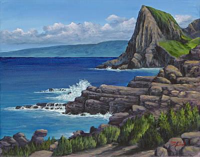 Painting - Kahakuloa Maui by Darice Machel McGuire