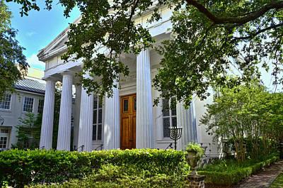Photograph - Kahal Kadosh Beth Elohim Synagogue - Charleston by Allen Beatty