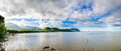 Photograph - Kahaluu Fish Pond Panorama by Jason Chu