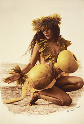 Photograph - Kahiko Hula by Himani - Printscapes