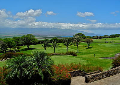 Photograph - Kahili Golf Course 18th Green by Kirsten Giving