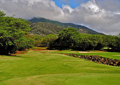 Photograph - Kahili Golf Course 6th Hole by Kirsten Giving